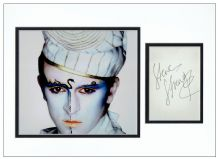 Steve Strange Autograph Signed Display